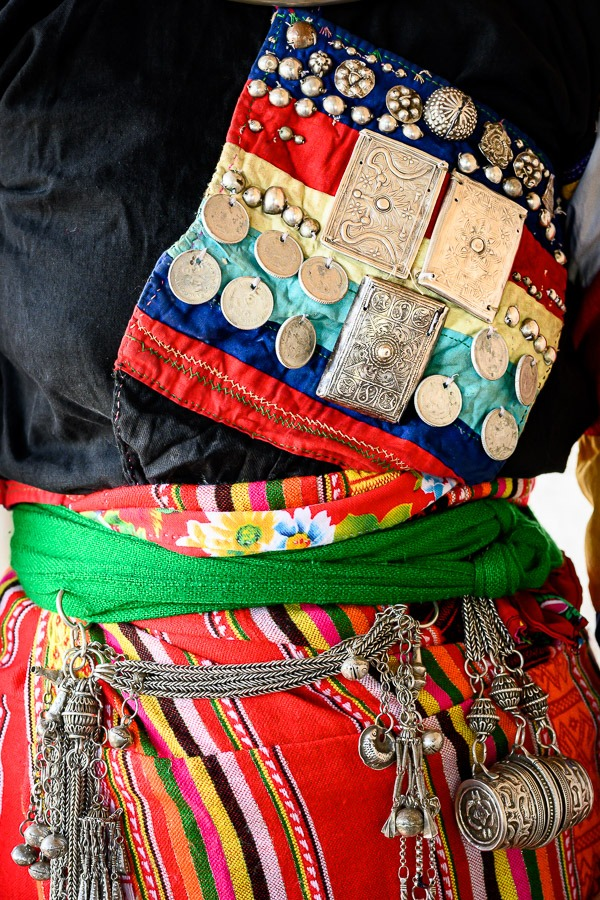 detailed adornments, Cong Ethnic Group