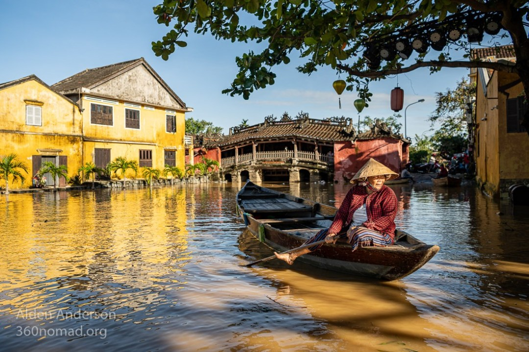 Hoi An Flood, Japanese Bridge
