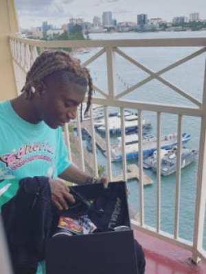 "Bella Shmurda Receives ""Made In Lagos"" Gift Pack From Wizkid, Bella Shmurda Receives ""Made In Lagos"" Gift Pack From Wizkid, 360okay"