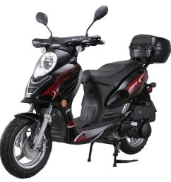 vitacci challenger 50cc scooter alternative views  [ 771 x 1131 Pixel ]