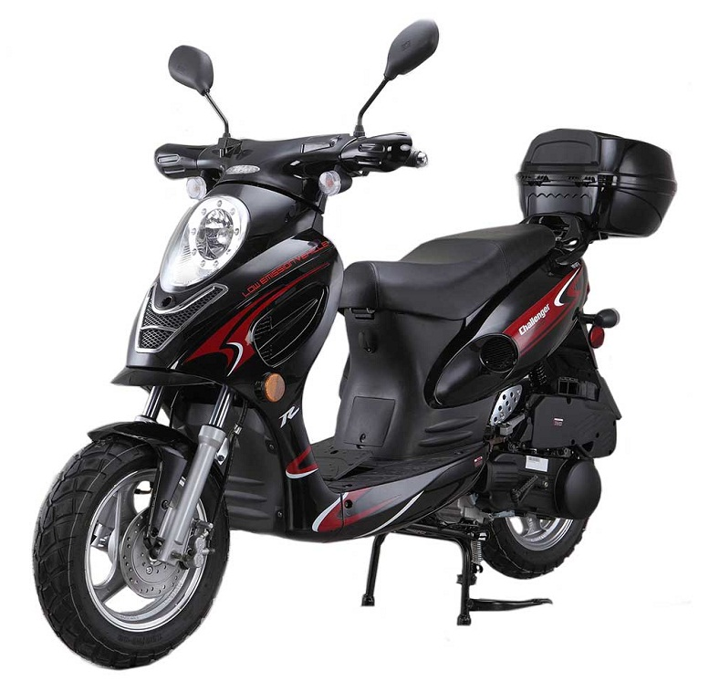 hight resolution of vitacci challenger 50cc scooter alternative views