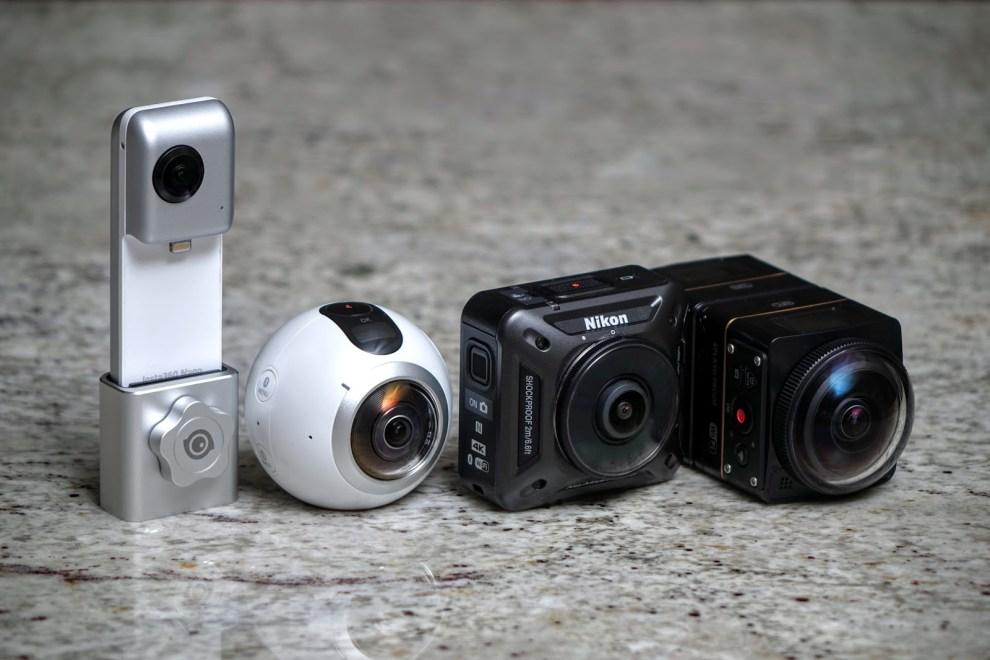 4k 360 video camera shootout: Samsung Gear 360 vs. Nikon Keymission 360 vs. Kodak SP360 4k Dual Pro vs. Insta360 Nano