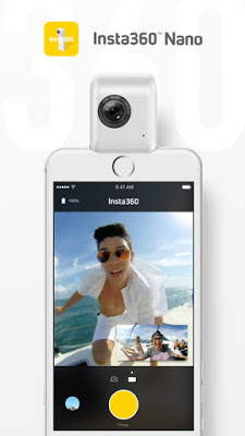 Insta360 Nano app update adds easier YouTube