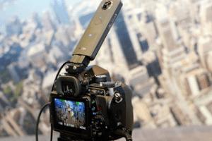 Ricoh combines a 360 photo with non-360 photos and videos