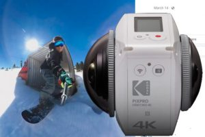 Spotted: first photos from the Kodak Orbit360 (aka 4KVR360)