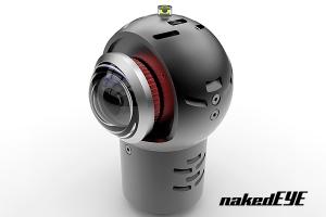 indiecam nakedeye 360 camera