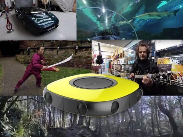 Vuze first affordable 4k 3D 360 camera