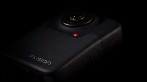 GoPro Fusion 5.2K fully spherical 360 camera