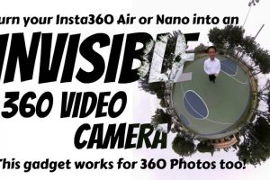Turn your Insta360 Air or Nano invisible