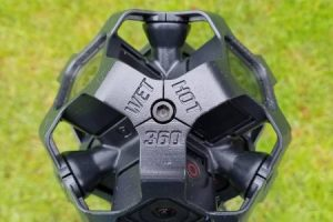 WetHot360 waterproof 8K 360 camera rig for GoPro Hero Session