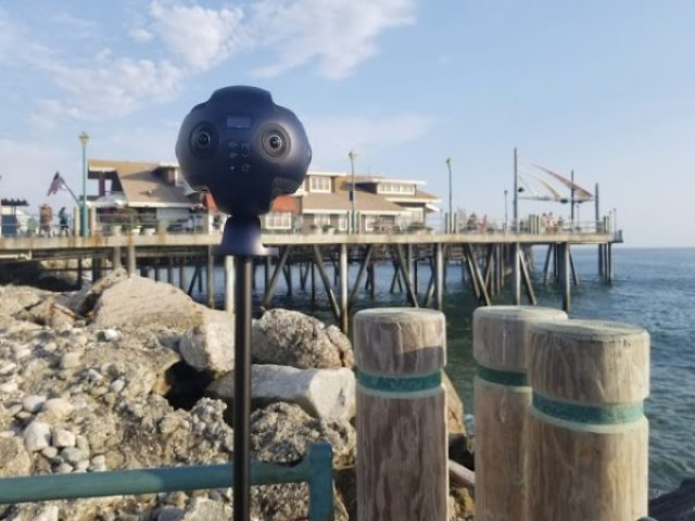 Insta360 Pro 8K 360 camera hands-on review with sample photos and videos