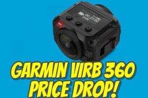 Garmin Virb 360 price drop