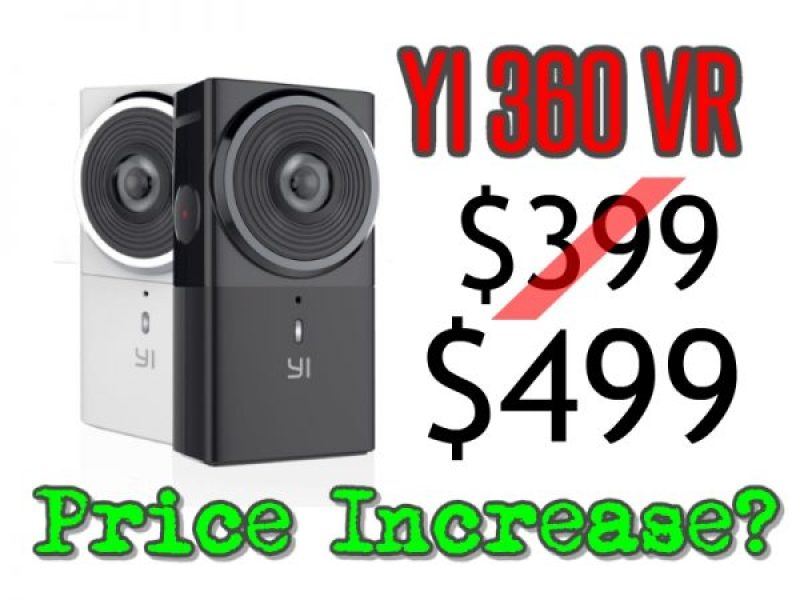 Rumor: Yi 360 VR price increase to $499