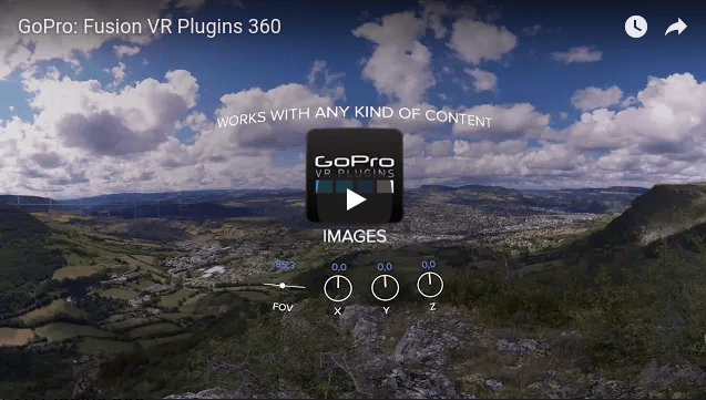 GoPro Fusion will include GoPro VR Plugins for free