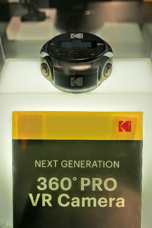 Kodak PIXPRO 360 Pro VR camera with 8k resolution