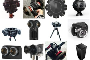 Large Sensor Professional 360 Camera Comparison Chart - The 360 cameras with the largest sensors