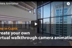 Cupix virtual tour walkthrough