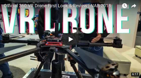 VR Drone: invisible stabilized drone for 360 cameras