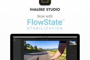 Insta360 Studio now supports Flowstate stabilization