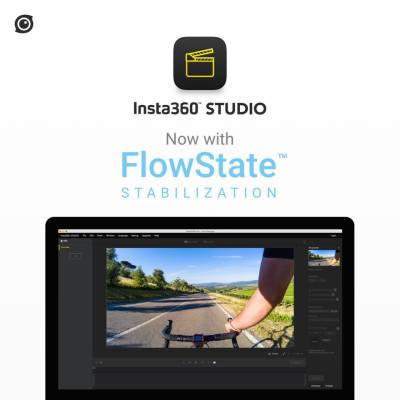 Insta360 Studio now supports Flowstate stabilization