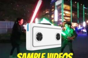 Lenovo Mirage camera VR180 sample videos