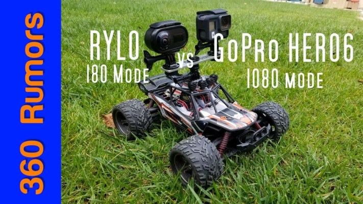 Rylo vs. GoPro Hero6