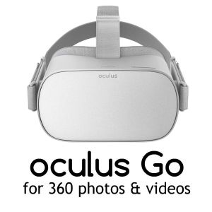 Using oculus go for 360 photos and videos