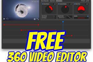 360 Ninja: a free 360 video editor for Windows or Mac