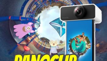 8813c9d550369 PanoClip 360 degree lens turns your smartphone into 360 camera (hands-on  review)