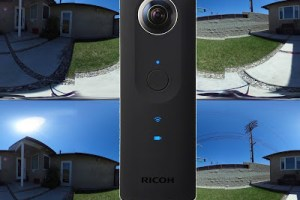 How to take a 3D 360 photo with a Ricoh Theta or other 2D 360 camera
