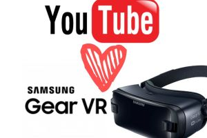 YouTube on Samsung Gear VR