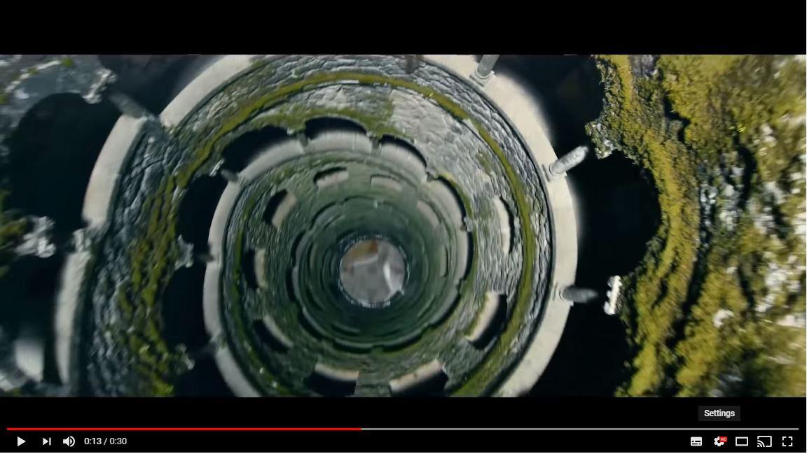 A scene from DJI's teaser