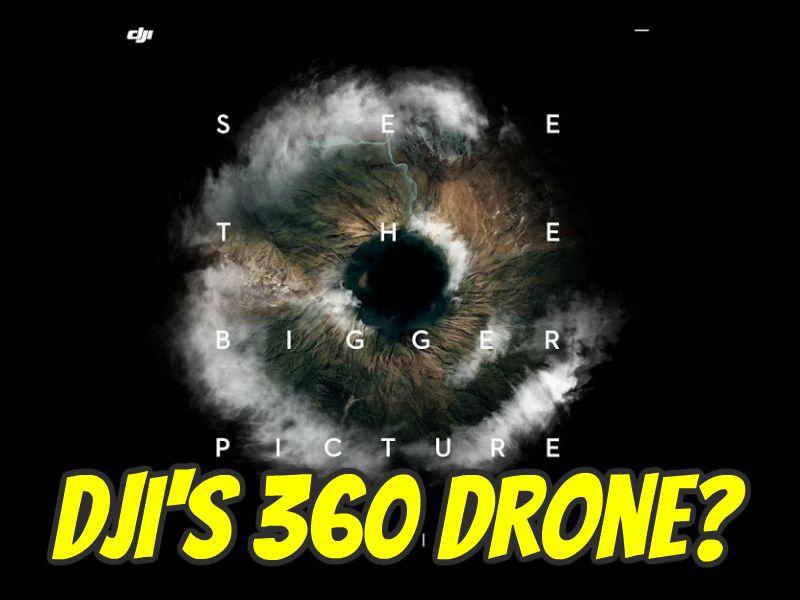 DJI's 360 camera drone?