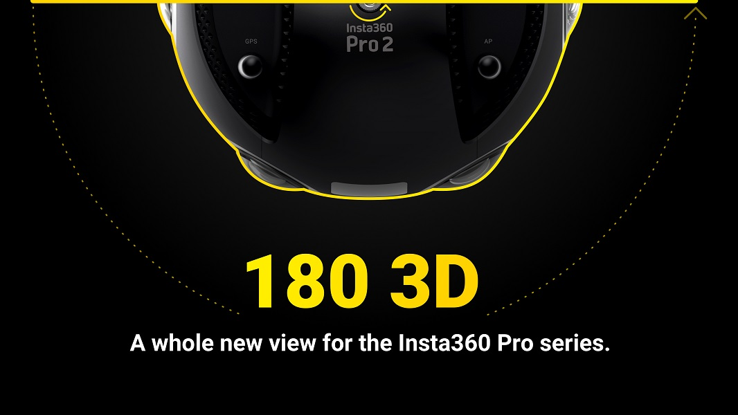 Insta360 Pro and Insta360 Pro 2 3D 180 mode