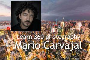 Mario Carvajal 360 photography class