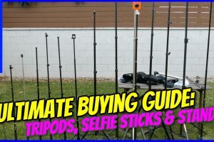Best 360 camera tripod and 360 camera selfie stick - ultimate buying guide