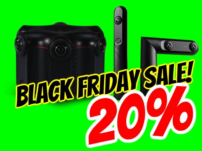 Black Friday 2018 sale: Kandao Qoocam and Kandao Obsidian