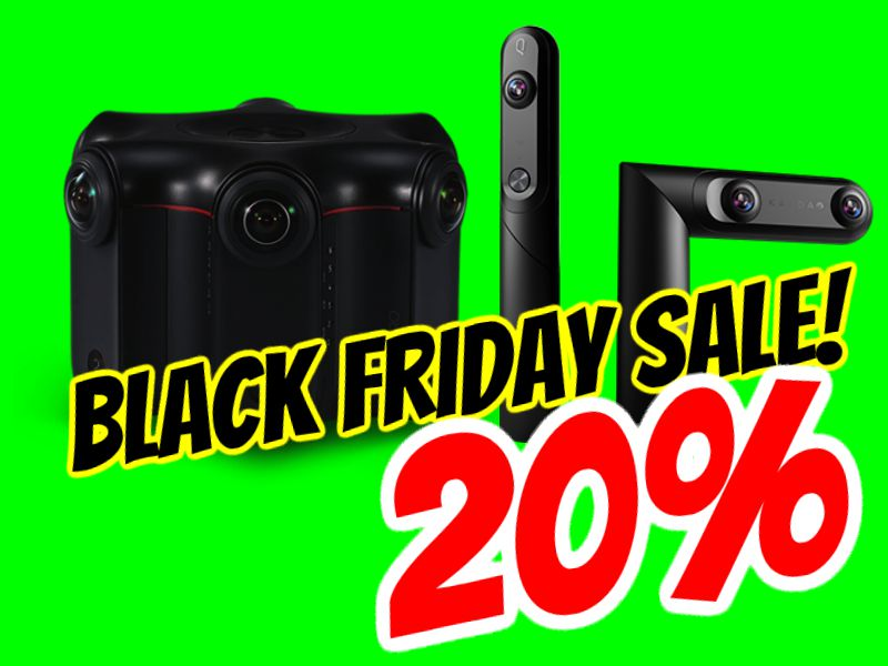 Black Friday 2018 sale: Kandao Qoocam and Kandao Obsidian