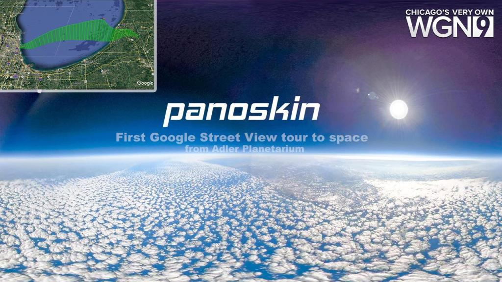 first Google Street View virtual tour in space with GoPro Fusion