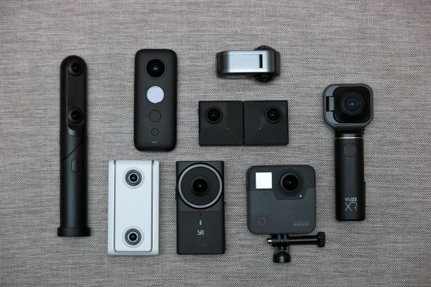 Insta360 EVO comparison with Insta360 One X, GoPro Fusion, Vuze XR, Rylo and other cameras