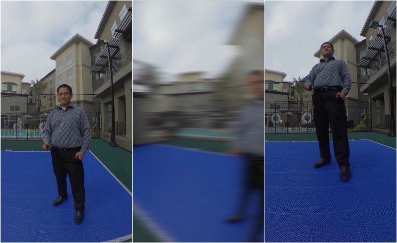 Camera move #11: whip pan
