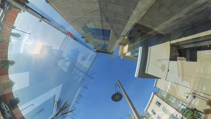 Camera move #13: sky transition