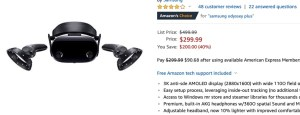 Oculus Rift S inside out tracking + HTC Vive Pro resolution for $299