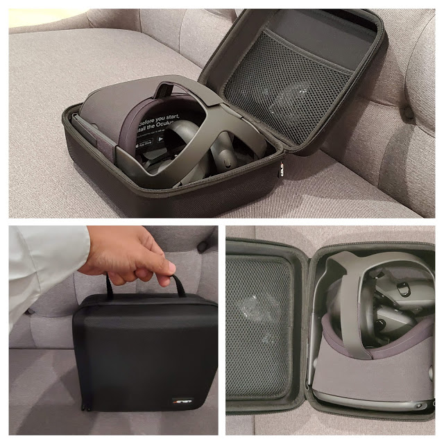 Oculus Quest case is a perfect fit