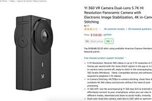 Yi 360 VR discount $159