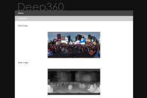 Deep360 converts 2D 360 photos into 3D 360