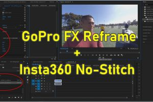 GoPro FX Reframe now works with Insta360 No-Stitch Workflow