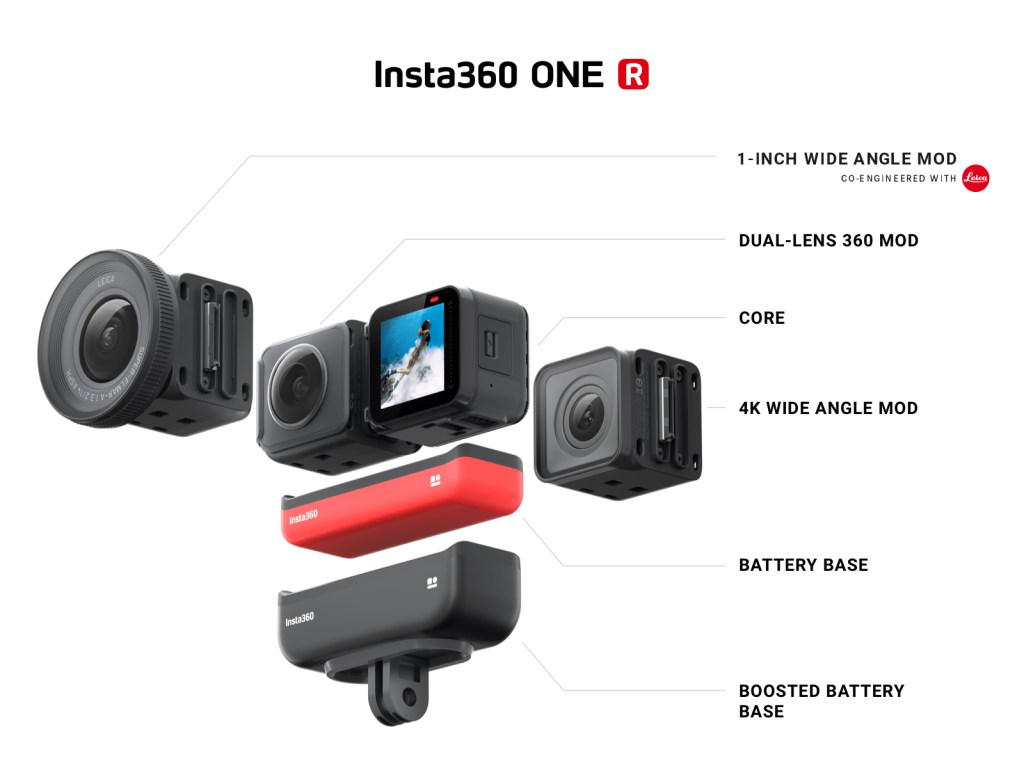 Insta360 One R: 30 features and disadvantages