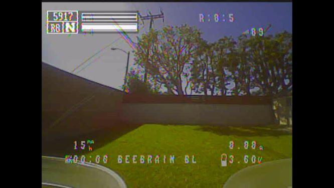 FPV video view