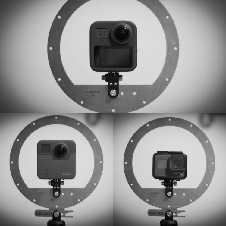 BE360 Dome is compatible with many cameras
